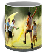 Color Run Happy Coffee Mug