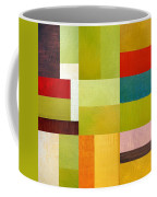 Color Study Abstract 9.0 Coffee Mug by Michelle Calkins