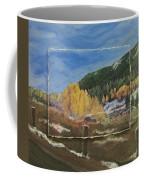 Colorado Almost Winter Coffee Mug