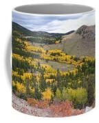 Colorado Autumn Aspens Colors Coffee Mug