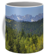 Colorado Rocky Mountain Continental Divide Autumn View Coffee Mug