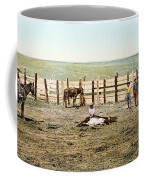 Colorado: Roping A Steer Coffee Mug