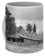 Colorado Rustic Autumn High Country Barn Bw Coffee Mug