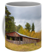 Colorado Rustic Autumn High Country Barn Coffee Mug