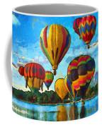 Colorado Springs Hot Air Balloons Coffee Mug by Nikki Marie Smith