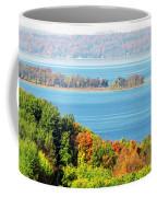 Colored Peninsula  Coffee Mug