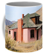 Colorful Abandoned Home In Dying Farm Town Coffee Mug