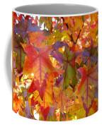 Colorful Autumn Leaves Art Prints Trees Coffee Mug
