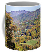 Colorful Autumn Valley Coffee Mug