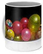 Colorful Balls In The Shop Window Coffee Mug by Ausra Huntington nee Paulauskaite