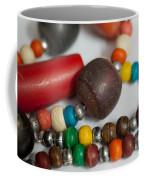 Colorful Beads In Chains Coffee Mug