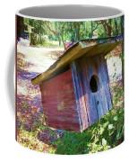 Colorful Birdie House Coffee Mug