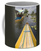 Colorful Boats On Dal Lake Dal Lake Coffee Mug