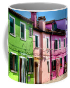 Colorful Burano Italy Coffee Mug