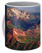 Colorful Colorado Rocky Mountains Planet Art Coffee Mug by James BO  Insogna