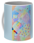 Colorful Doodling Original Art Coffee Mug
