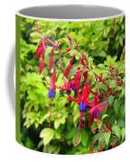 Colorful Fuchsia Coffee Mug