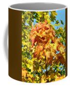 Colorful Leaf Cluster Coffee Mug