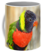 Colorful Lorikeet Parrot Coffee Mug