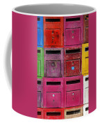 Colorful Mailboxes Coffee Mug