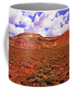 Colorful Mesas At Fossil Butte Nm Butte Coffee Mug