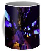 Colorful Passage Inside The Singapore Flyer Coffee Mug