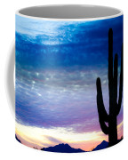 Colorful Southwest Desert Sunrise Coffee Mug