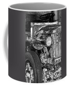 Colorful Vintage Car In Black And White Coffee Mug