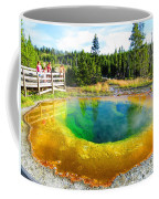 Colorful Yellowstone Coffee Mug