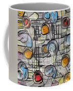 Colors Fighting To Get Out Coffee Mug
