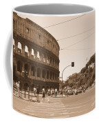 Colosseum In Sepia Coffee Mug
