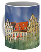 Colourful Buildings And Fountain Coffee Mug