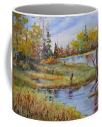 colours Of Elk Island Coffee Mug