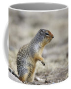 Columbian Ground Squirrel, Banff Coffee Mug