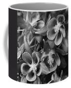 Columbine In Black And White Coffee Mug