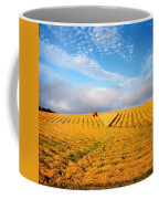 Combine Harvesting, Wheat, Ireland Coffee Mug