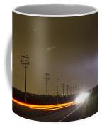 Come Into The Light Lightning Strike Coffee Mug