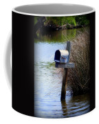 Come Rain Or Shine Or Boat Coffee Mug by Karen Wiles