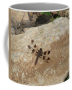 Common Whitetail Dragonfly Coffee Mug