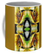 Compassion - Card X From The Tarot Of Flowers Coffee Mug