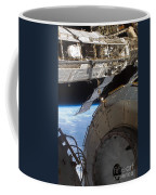 Components Of The International Space Coffee Mug by Stocktrek Images