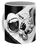 Components Of The Mercury Spacesuit Coffee Mug