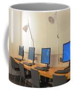 Computer Lab In A Simulation Medical Coffee Mug