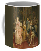 Concert At The Time Of Mozart Coffee Mug by Ettore Simonetti