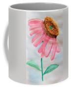Coneflower - Watercolor Coffee Mug
