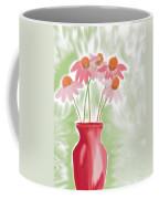 Coneflower Still Life Coffee Mug