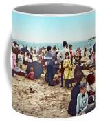 Coney Island: Beach, C1902 Coffee Mug