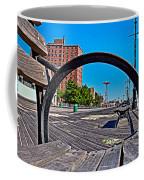 Coney Island Bench View Coffee Mug