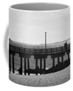 Coney Island Coast In Black And White Coffee Mug