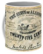 Confedrate Currency Coffee Mug